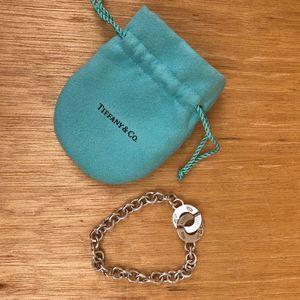 Authentic Tiffany & Co Silver Interlace Bracelet